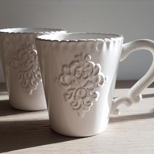 Monogram White Mug £6.50 each
