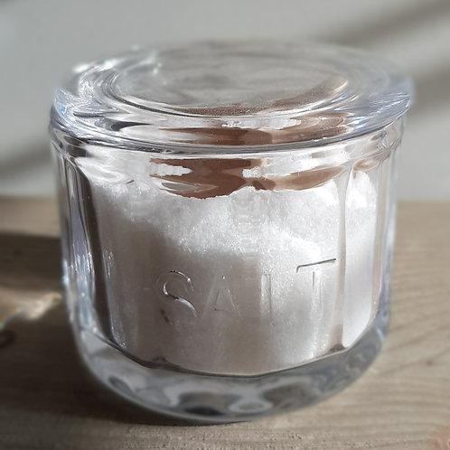 Glass Salt Jar