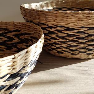 Chevron Baskets £6.50 & £5.50