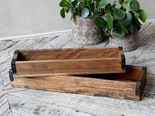 GRIMAUD Rustic Wood  Box Small
