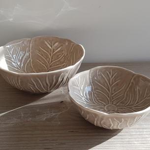 Leaf Bowls, £8.50 & £5.00