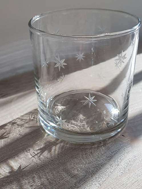 Etched Star Tumbler