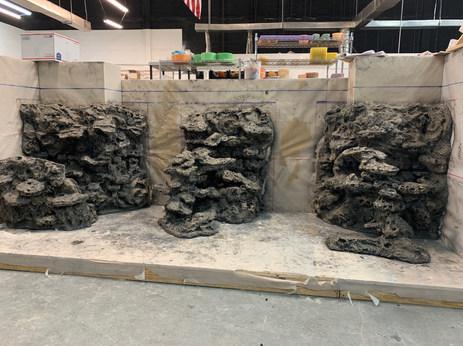 Texas Moon Rock 10 ft long Hybridscape