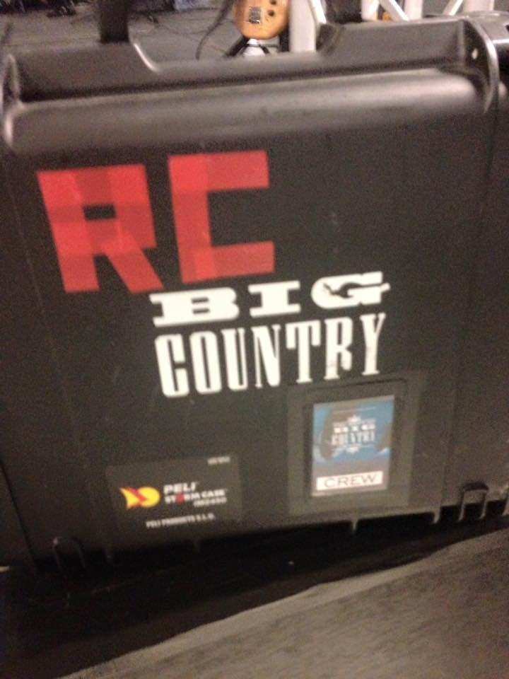 Supporting Big Country