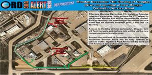 AOA Alert New Hangar perimeter Road