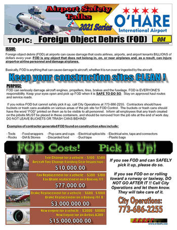 ORD Safety Talk 004 Foreign Object Debri