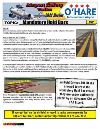ORD Safety Talk 002 Manadtory Hold Bar 2