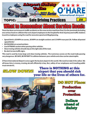 ORD Safety Talk 014 Safe Driving Practic