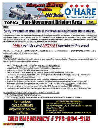 ORD Safety Talk 005 Non Movement Area 20