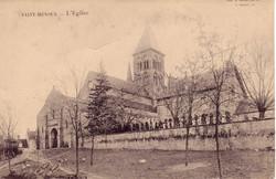 ST.-MENOUX-Eglise-vue-sud-ouest