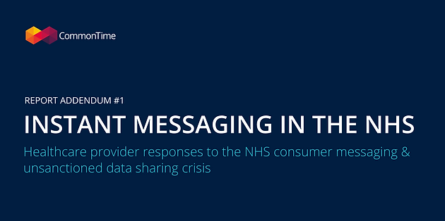 NHS Trusts not discouraging WhatsApp and other consumer apps