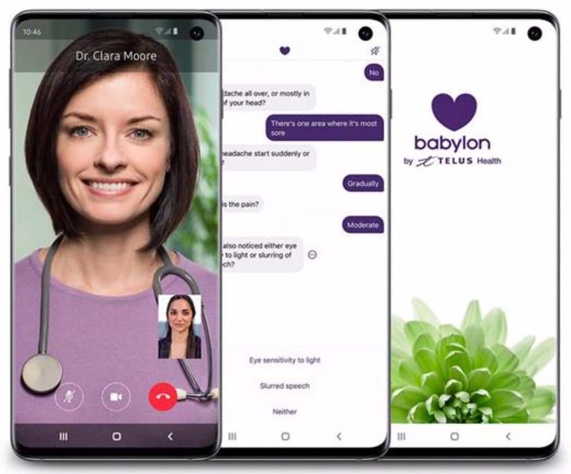 TELUS Health and Babylon to bring advanced digital health technologies to Canada