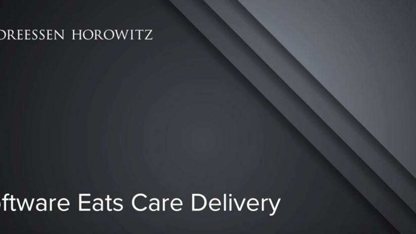 How Software is Eating Care Delivery in Healthcare