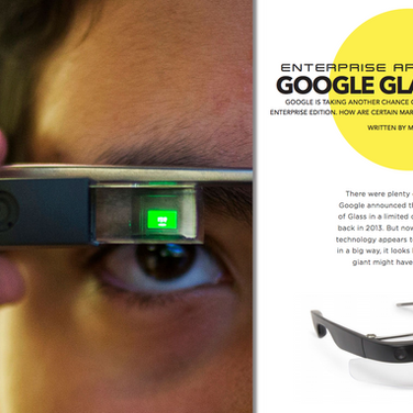 Google Glass is back : Doctors can receive patient notes in real time, in their peripheral vision