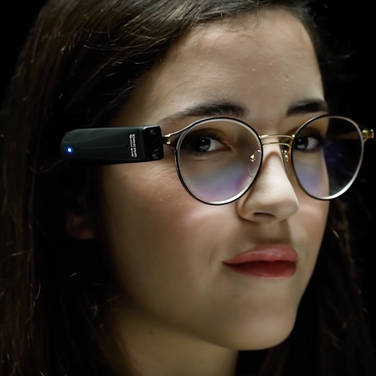 OrCam MyEye 2.0 : wearable artificial vision device designed for people who are blind