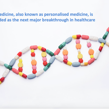 Precision medicine, also known as personalised medicine, is being heralded as the next major breakth