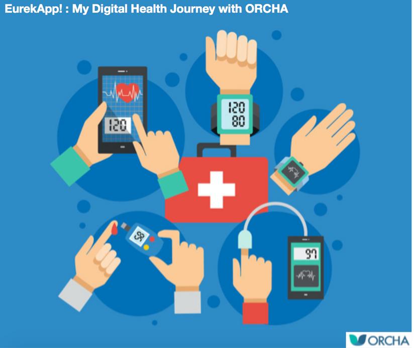 EurekApp! : My Digital Health Journey with ORCHA by Liz Ashall-Payne