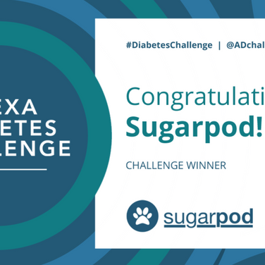 Sugarpod wins the Amazon Alexa Diabetes Challenge
