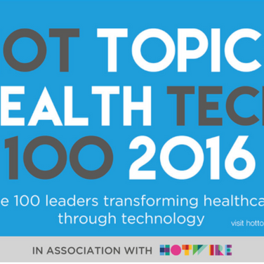 The 100 most influential people in HealthTech 2016