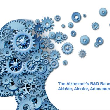 The Alzheimer's R&D Race : AbbVie, Alector, Aducanumab