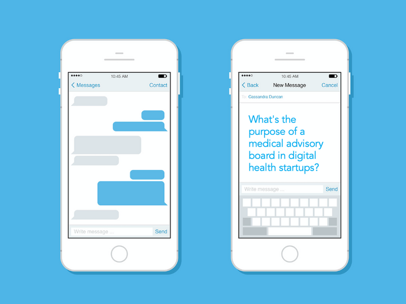 What's the purpose of a medical advisory board in digital health startups?