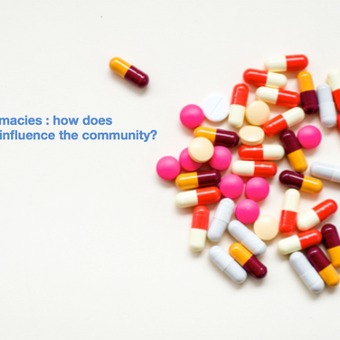 Onlinepharmacies: how does technology influence the community?