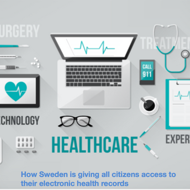 How Sweden is giving all citizens access to their electronic health records