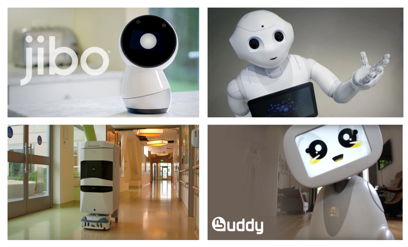 Real world examples of Robot-Human synergy in Healthcare