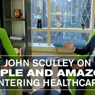 Amazon and Apple getting big into healthcare won't be easy says ex Apple CEO John Sculley