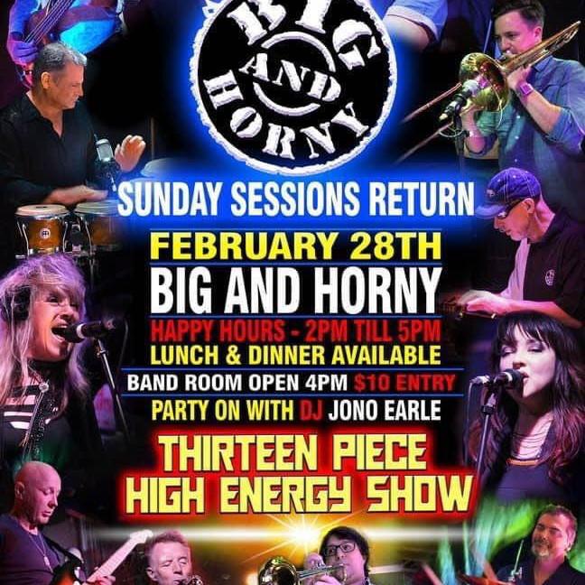Big & Horny Thirteen Piece High Energy Show