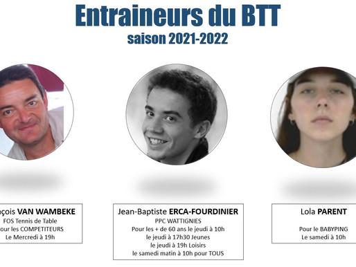 4 entraineurs à Baisieux