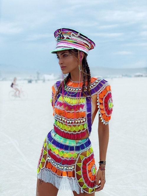 NEON SAHARA DRESS