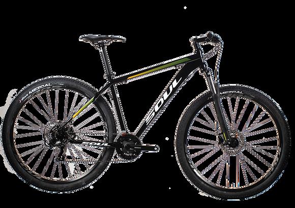 Bicicleta Soul SL129 Aro  Shimano Tourney 24 V Preta