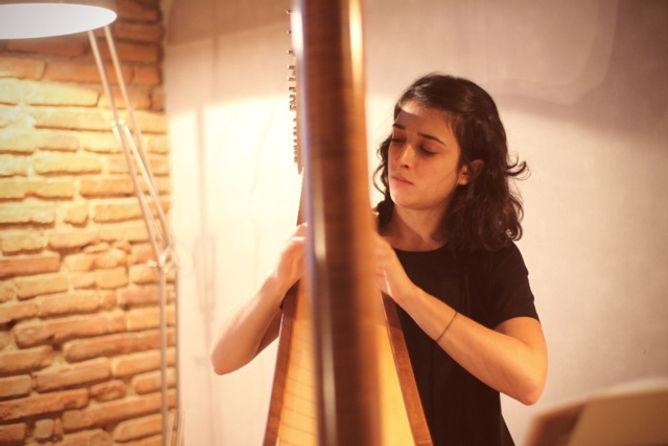 Florence Clotis professeur diplômé harpe