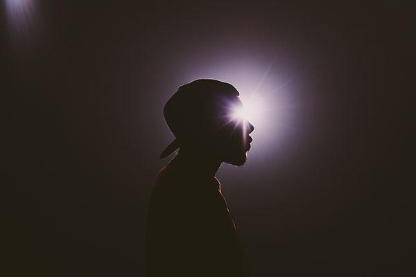 Spotlight em um Rapper
