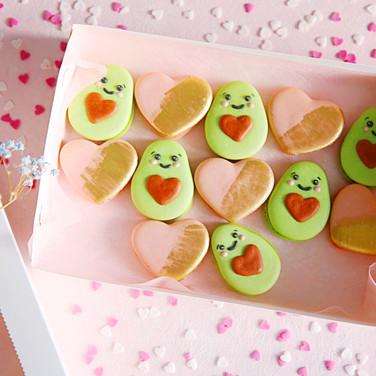 Valentine Macaron box