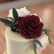 Elegant bespoke sugar flowers.