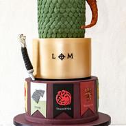 Game of Thrones Wedding Cake.
