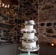 Rustic Buttercream Wedding Cake.