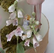 Foxglove and fairy detail.