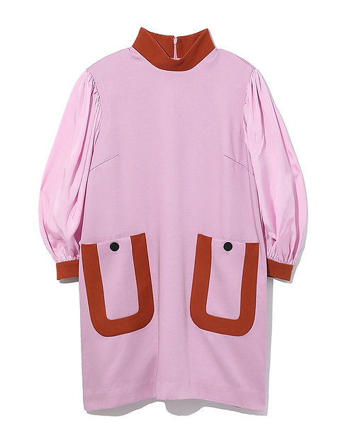 Tess Mini Dress - Pink