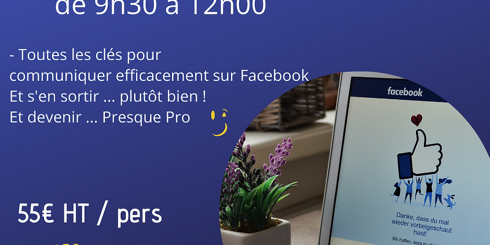Atelier Facebook pour les nuls