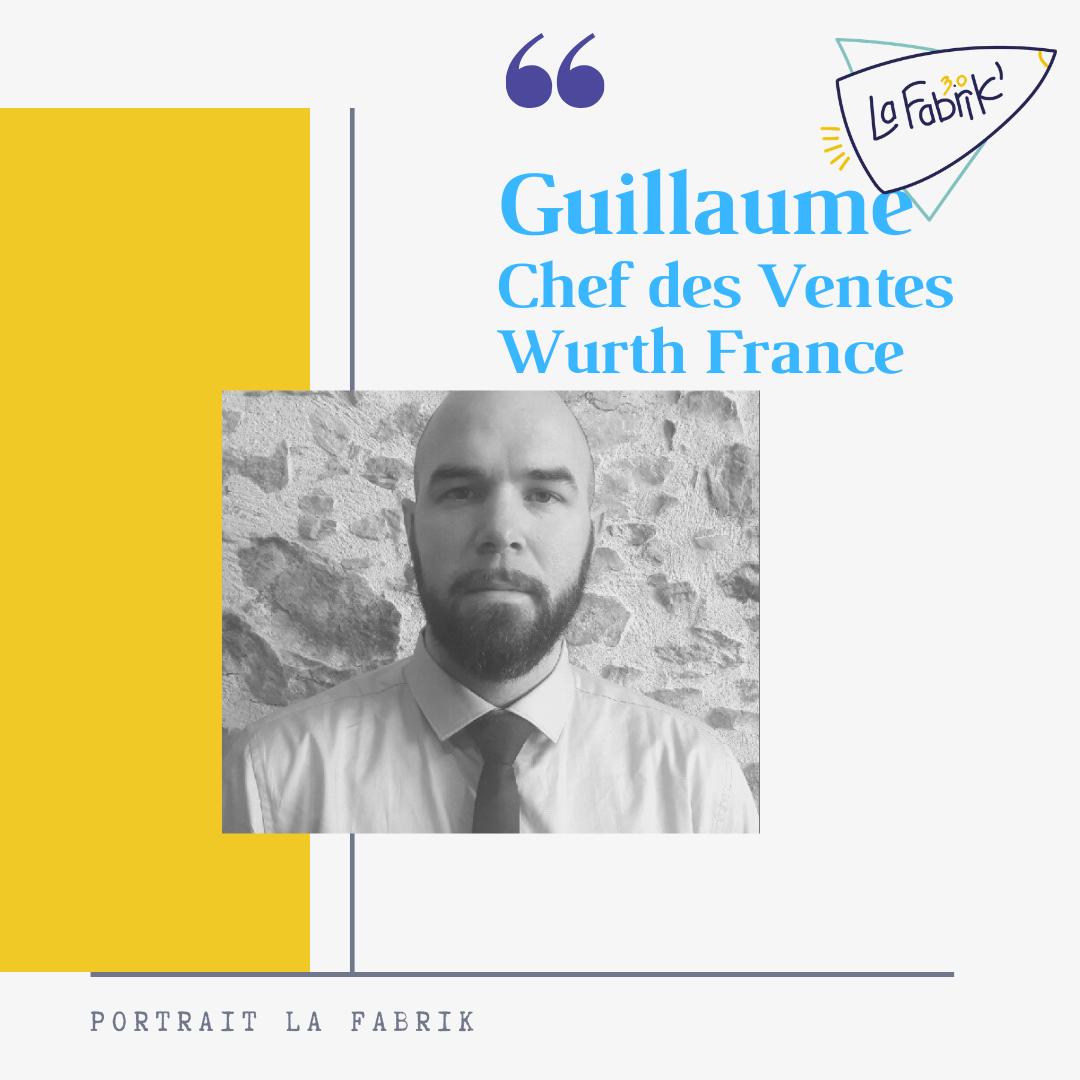 Guillaume - Chef des Ventes