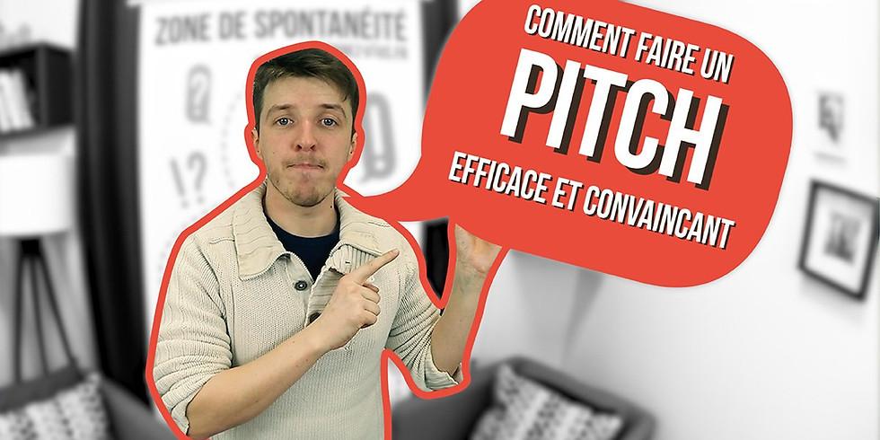 Atelier Faire un Pitch Efficace et convaincant !