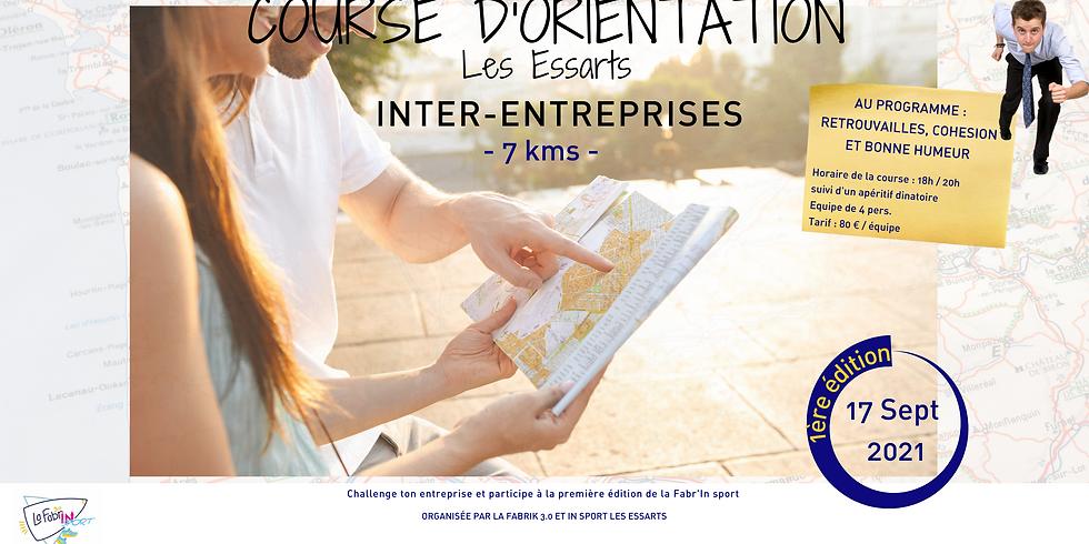 COURSE D'ORIENTATION - INTER ENTREPRISES