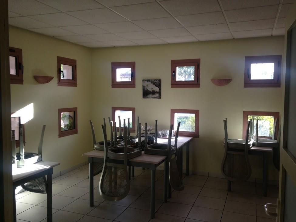 Ancienne salle à manger annexe du restaurant
