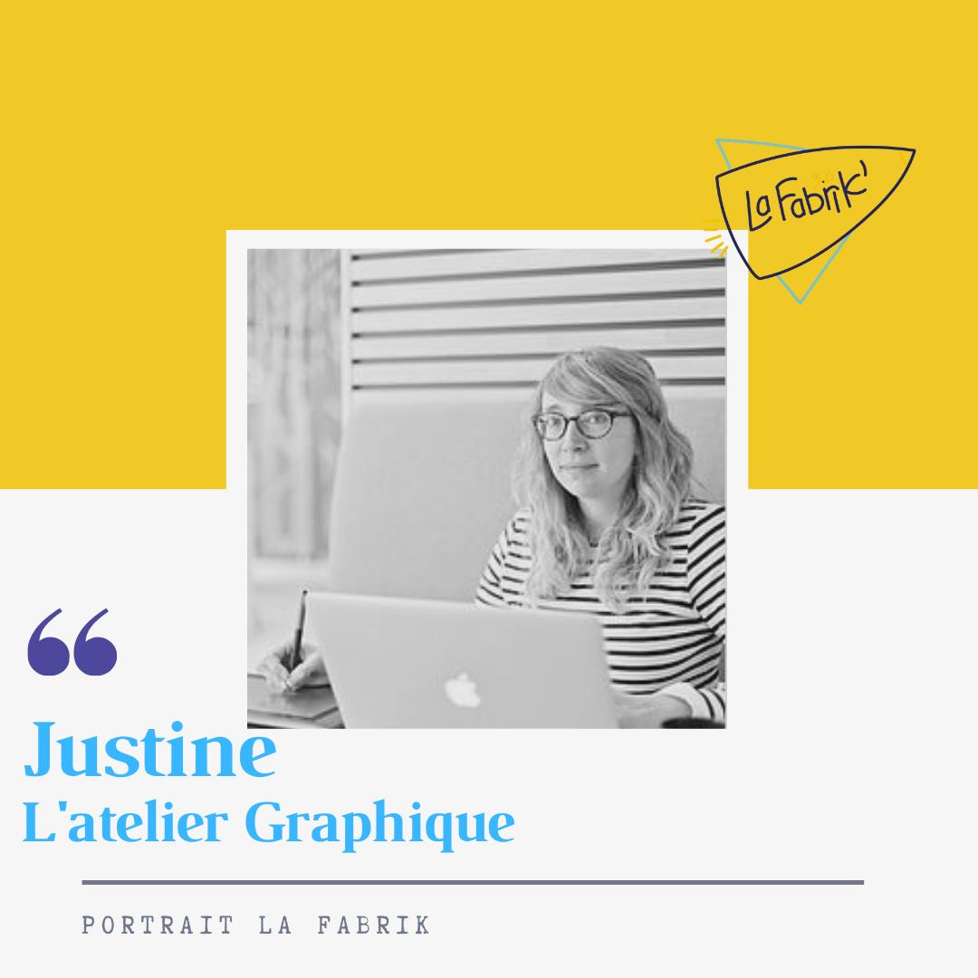 Justine - Graphiste