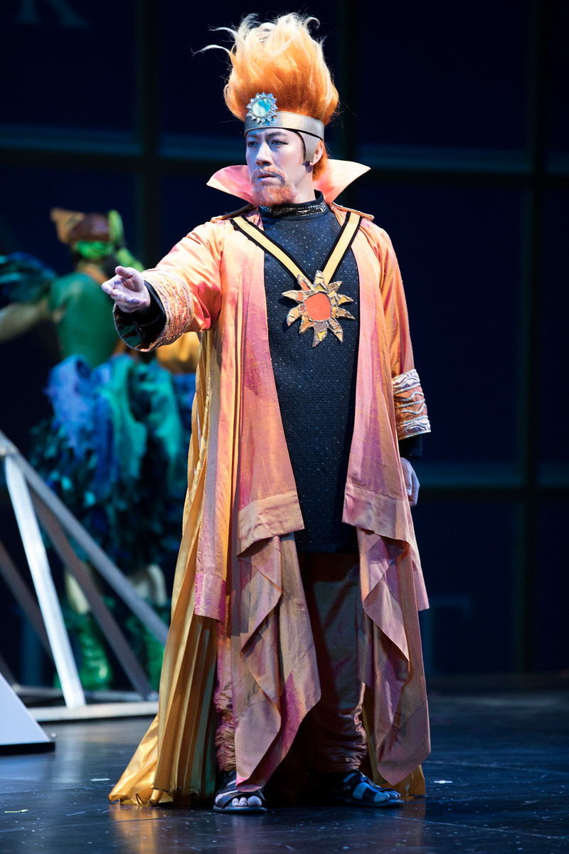 Sarastro Cover - The Magic Flute - Seattle Opera