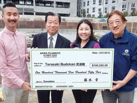 Generous Donations Encourage Support of Budokan in Little Tokyo
