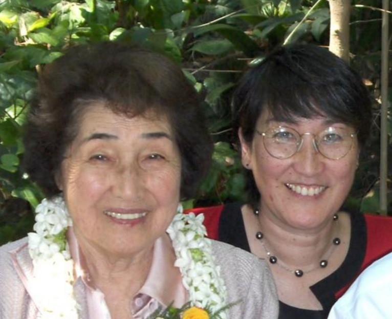 Grace Eto Shibata and Naomi Shibata